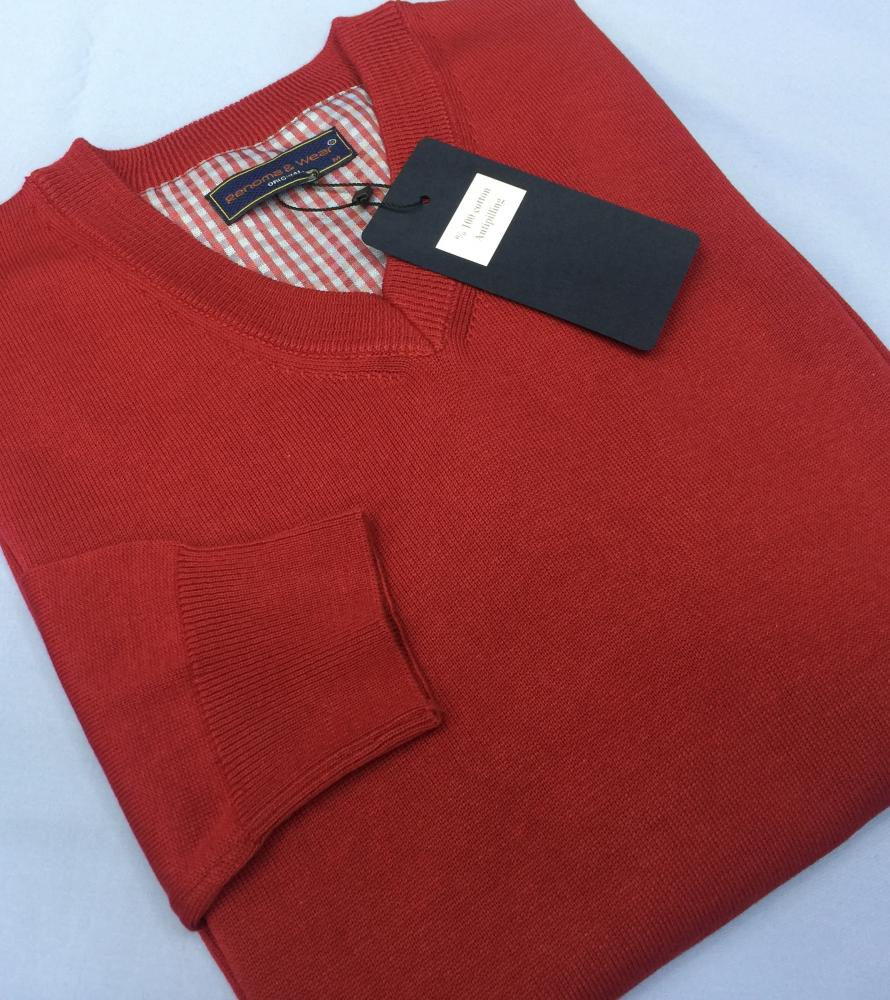 Men's 100% Cotton Plain Sweaters (V neck or 0 neck)_11