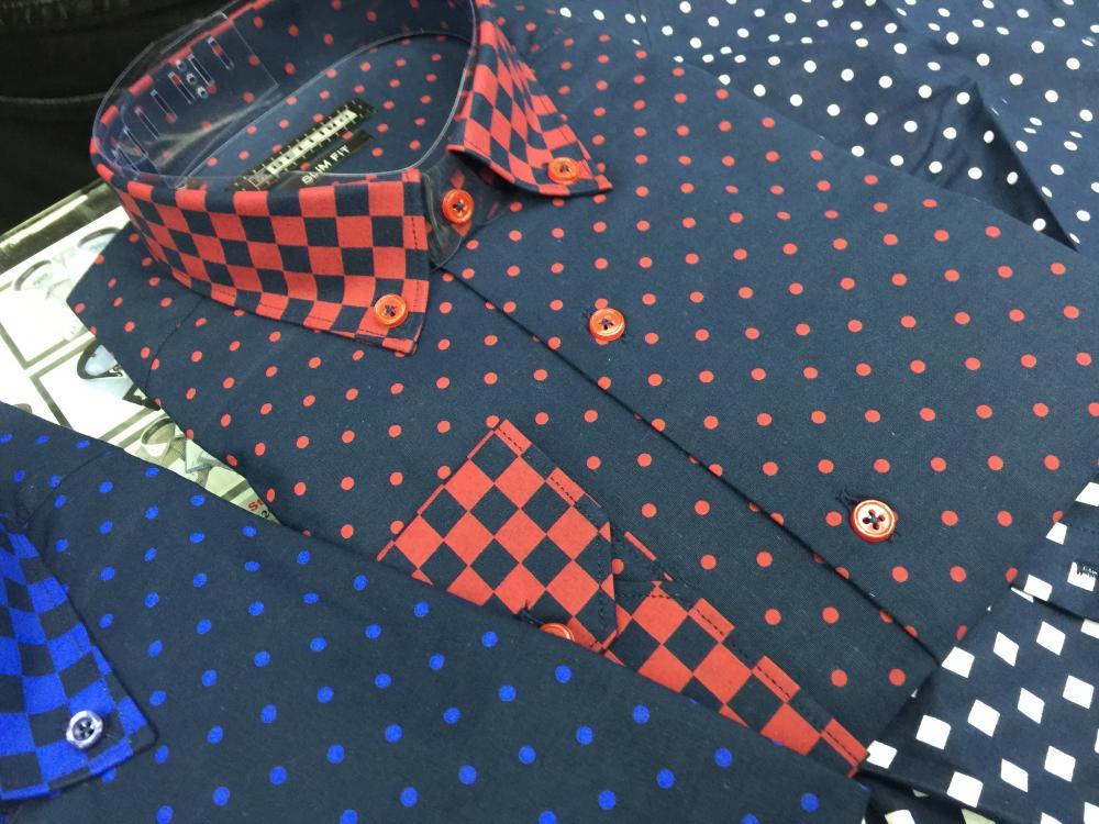Men's Printed Slim Fit Shirts_5