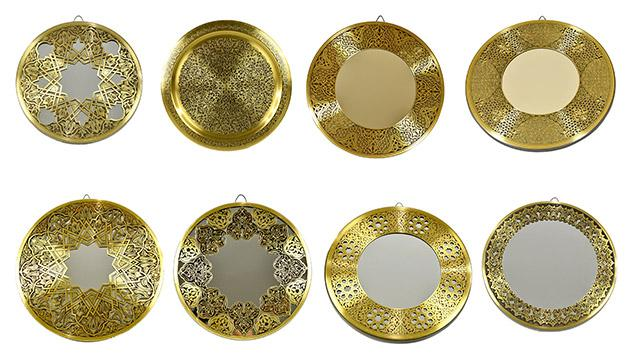 Fully handmade Copper Mirror (L) 40 CM_2