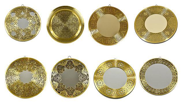 Fully handmade Copper Mirror (s)-2 20 cm_2