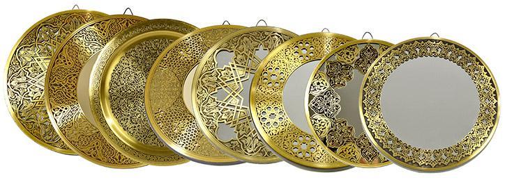 Fully handmade Copper tray 30 cm_2
