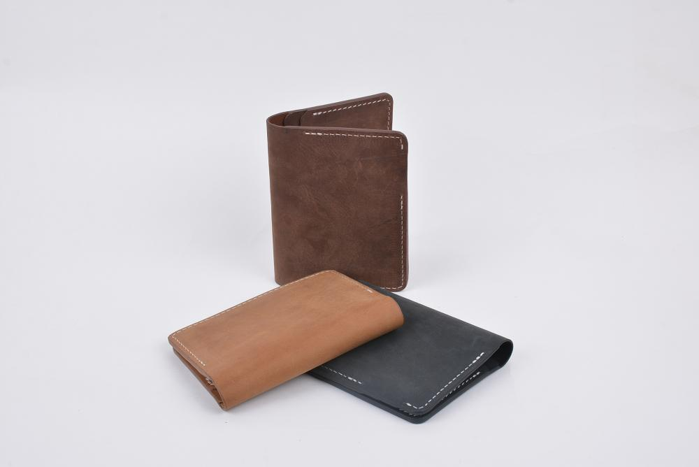 Hand Made Full Grain Leather Wallet_8