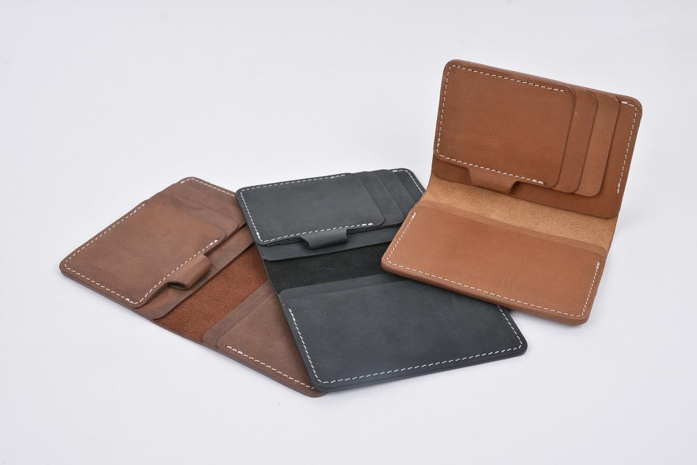 Hand Made Full Grain Leather Wallet_9