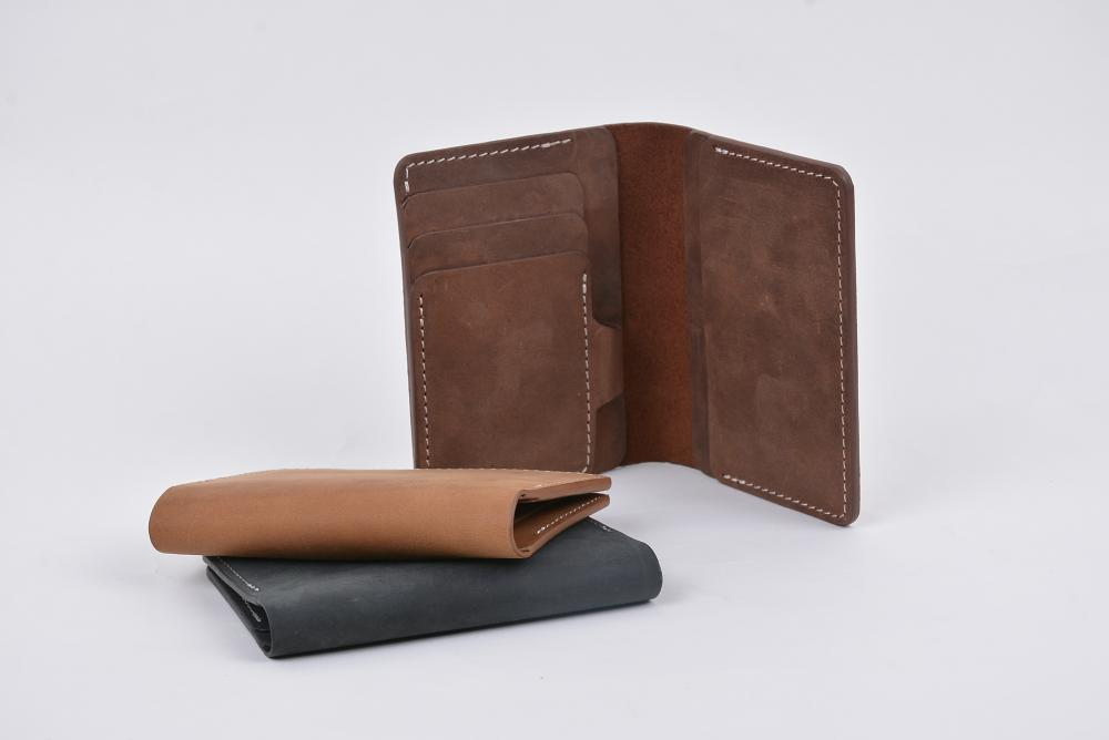 Hand Made Full Grain Leather Wallet_7