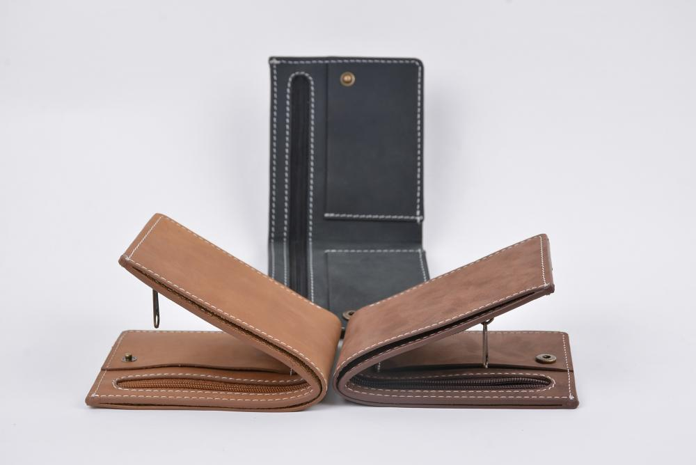 Hand Made Full Grain Leather Wallet_5