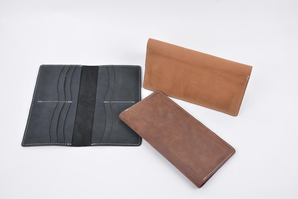 Hand Made Full Grain Leather Wallet_11