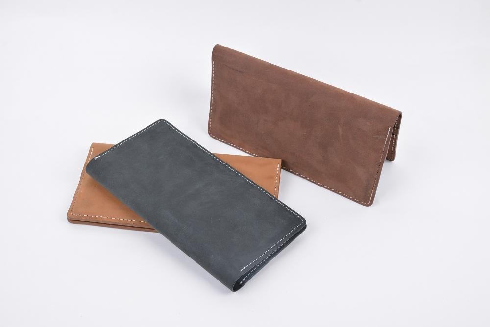 Hand Made Full Grain Leather Wallet_10