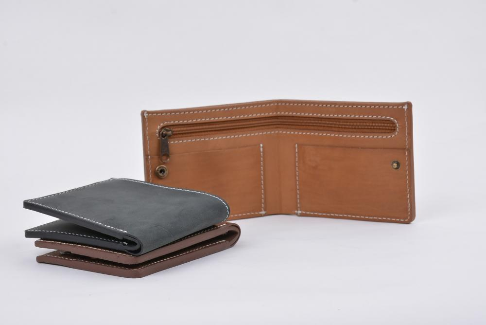 Hand Made Full Grain Leather Wallet_6