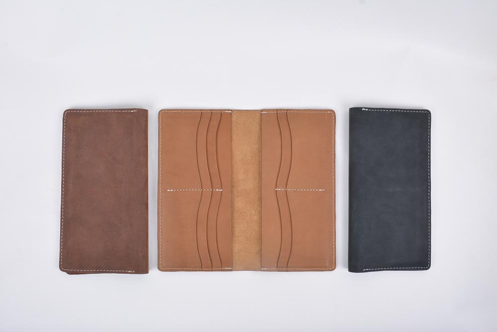 Hand Made Full Grain Leather Wallet_12