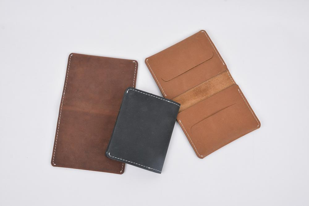 Hand Made Full Grain Leather Wallet_4