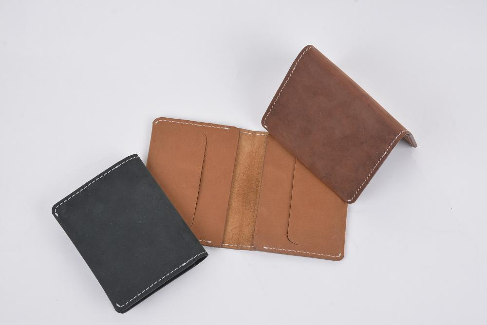 Hand Made Full Grain Leather Wallet_3