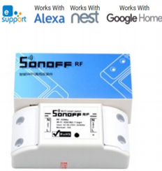 Sonoff RF Model: IM151116003 Wifi Switch Note: 433_2