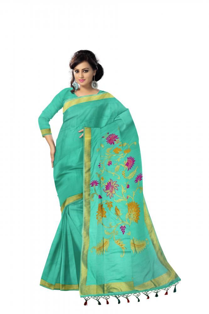 Jute Silk Saree_2