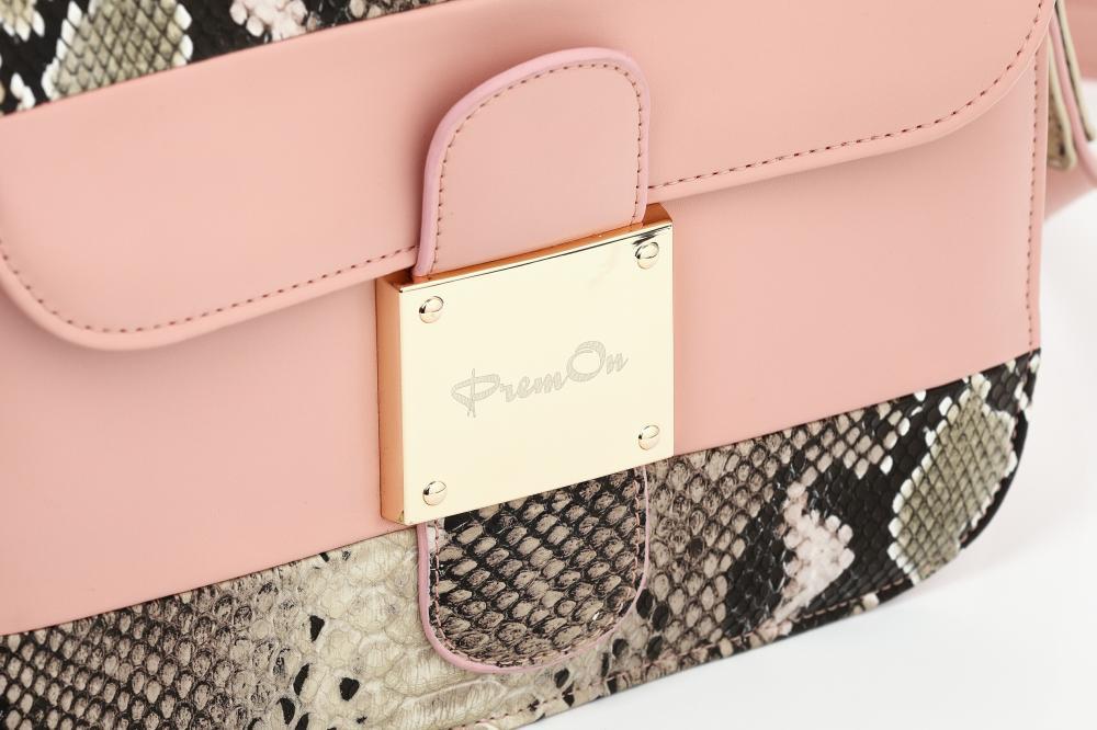 Sleek Pink Messenger Bag_5
