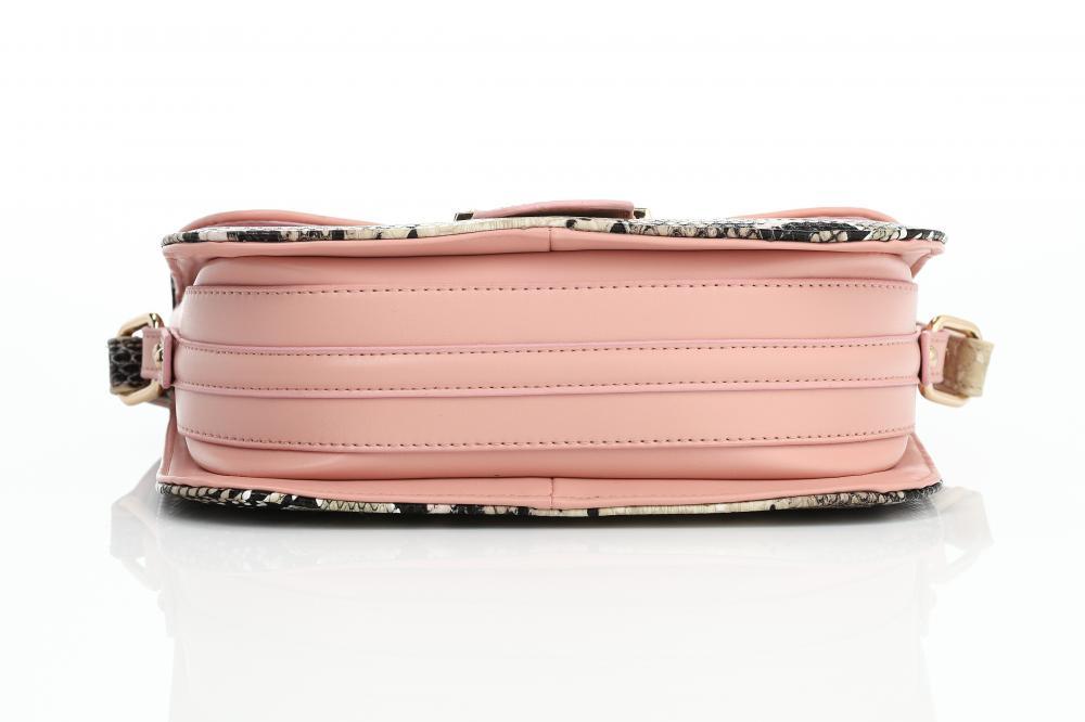 Sleek Pink Messenger Bag_4