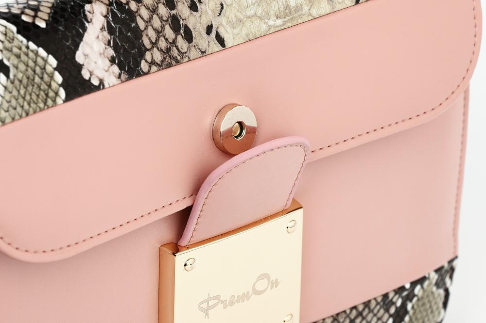 Sleek Pink Messenger Bag_3