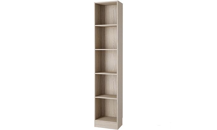 Element Tall Narrow 5-shelf Bookcase_2