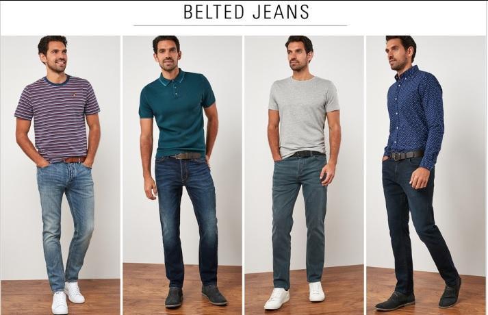 Men Belted Jeans_3