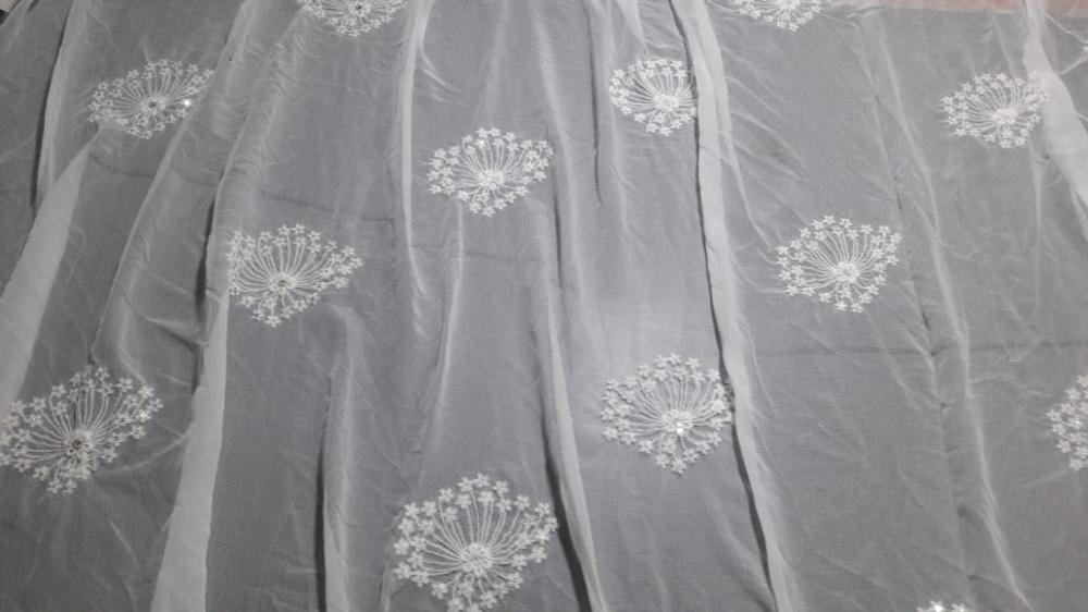 Silk, Chiffon , Cotton , Geoggette ...fabric_2