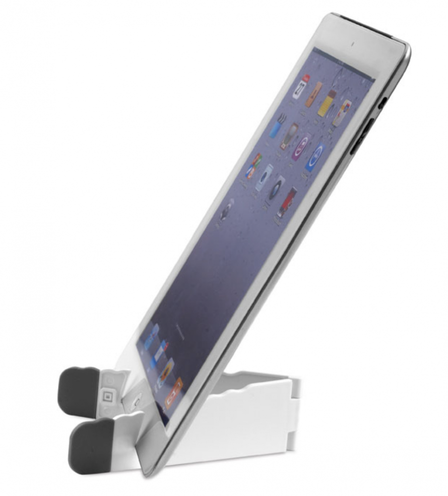 Graphic tablet and smartphone foldable holder_2