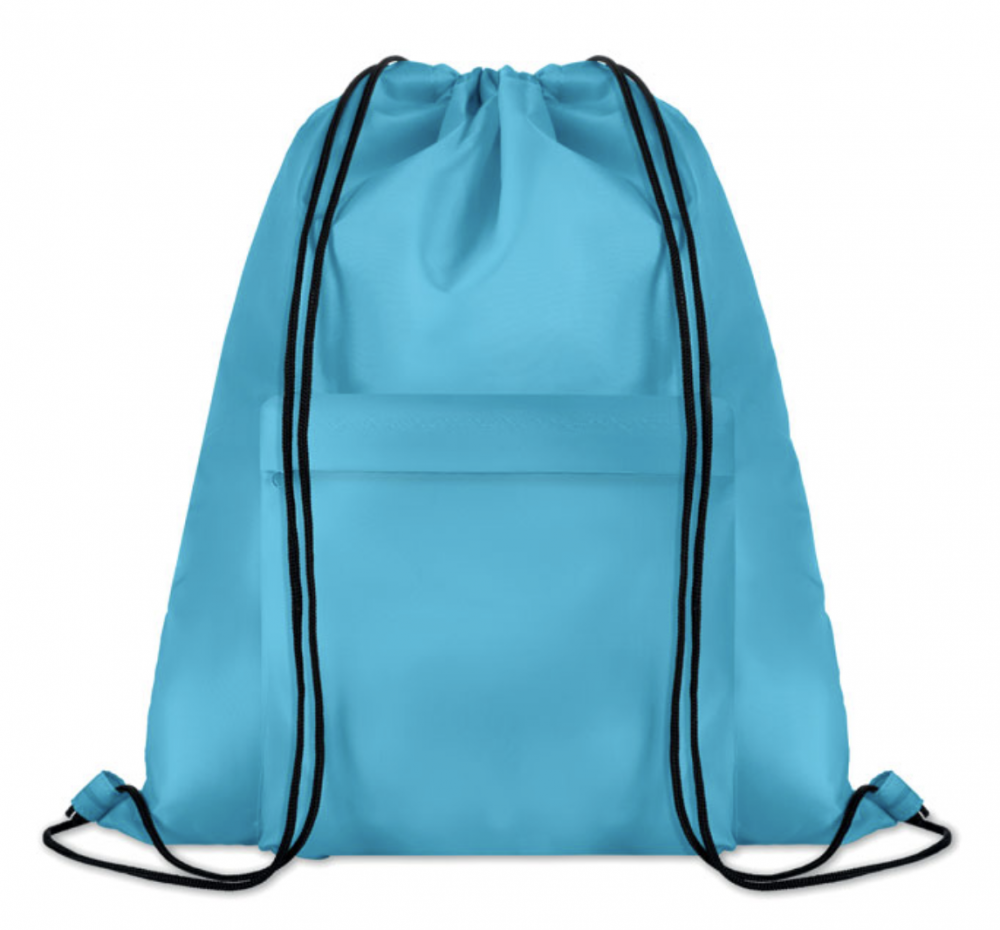 Large drawstring bag in 210D polyester_2