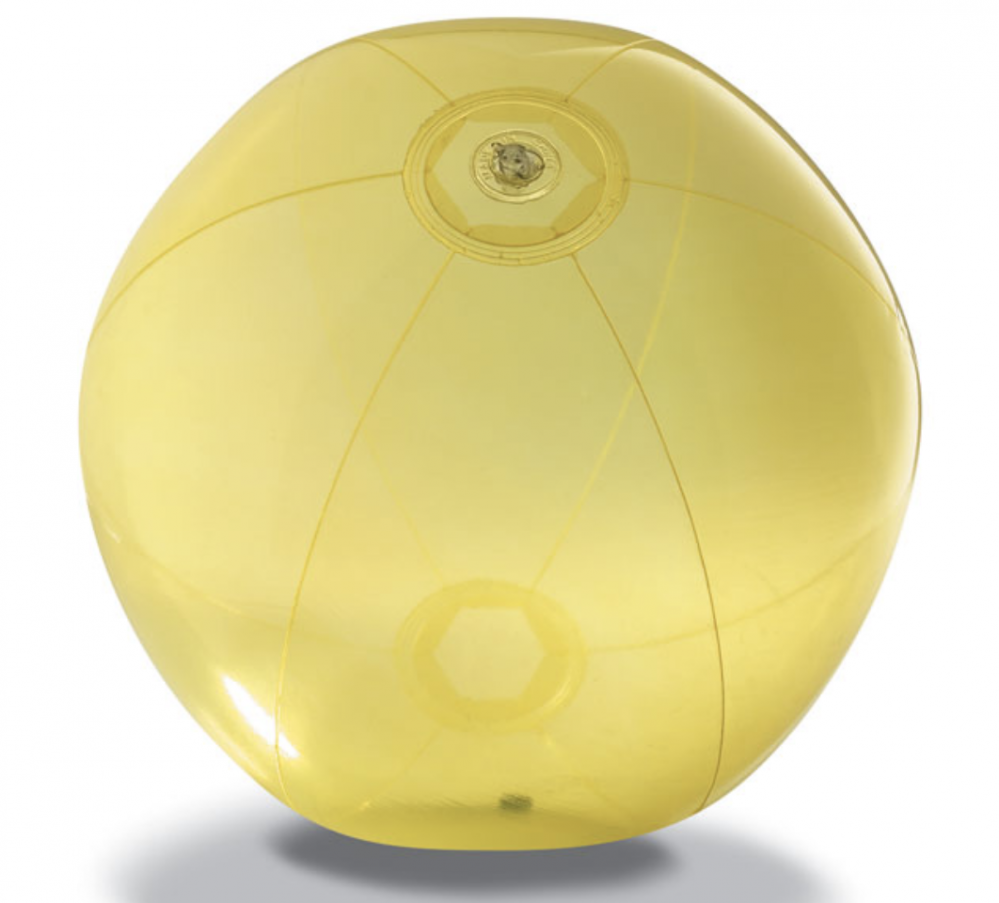 Beach Ball In Transparent PVC_2