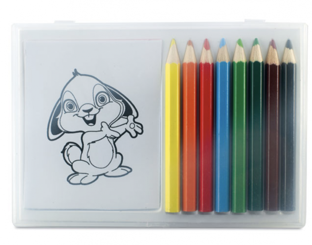 Colouring Set in Clear Box_2