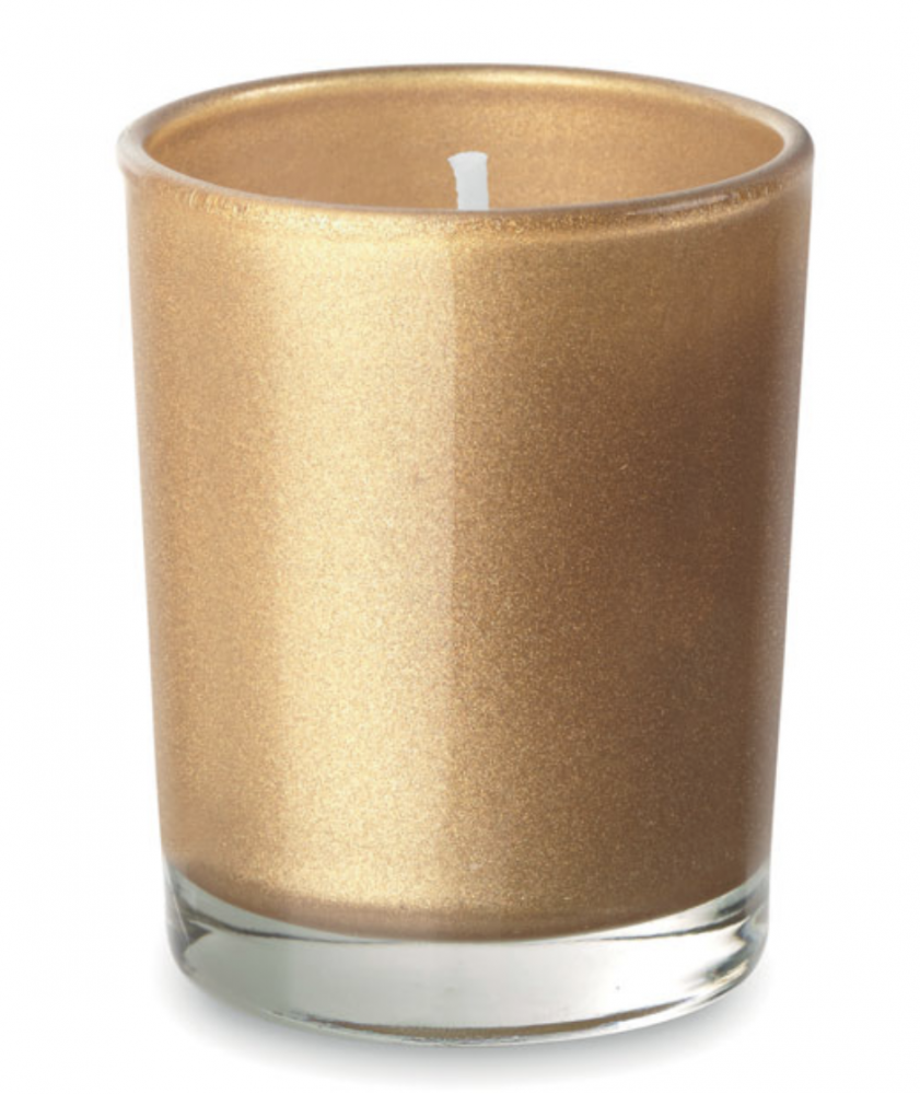 Fragranced Small Candle in Coloured Glass_2