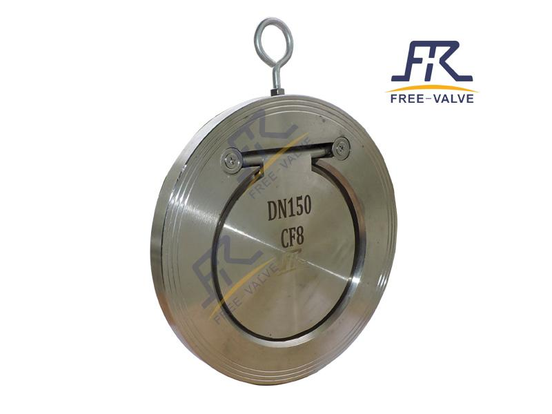 Wafer Single Plate Thin Type Check Valve_2