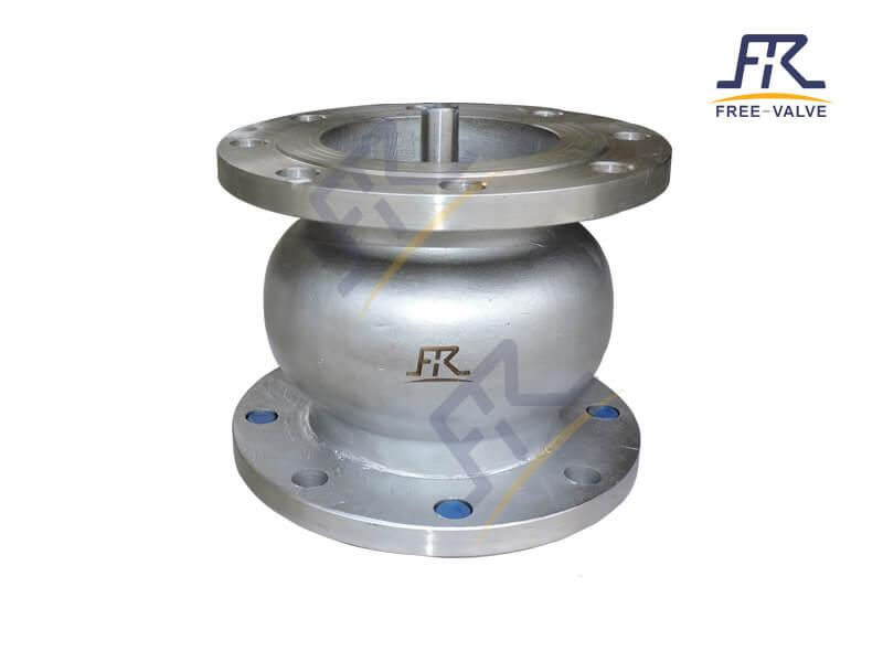 Cast Steel Silent Type Axial Flow Check Valve_3
