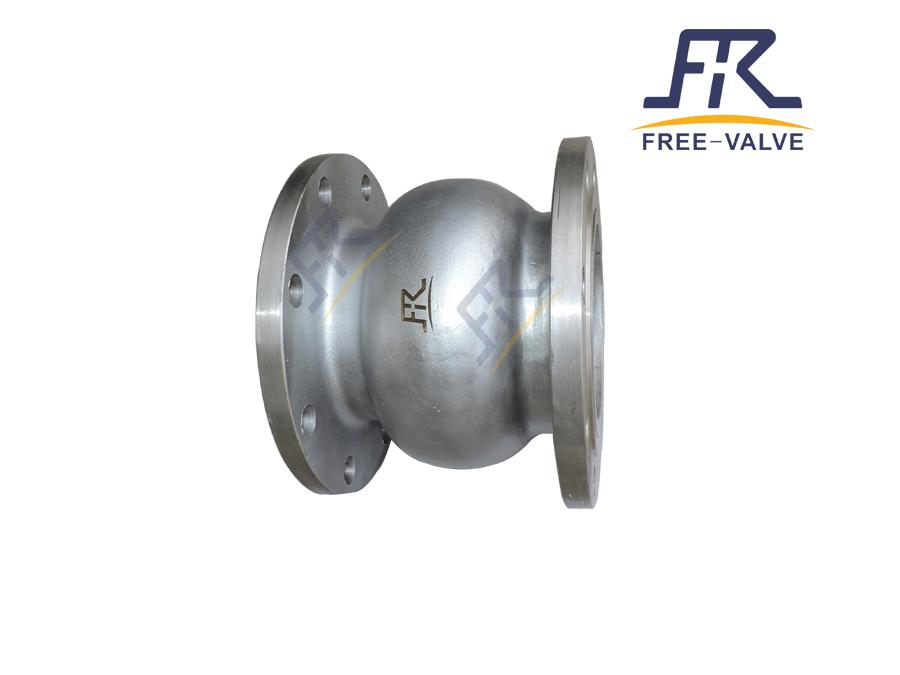 Cast Steel Silent Type Axial Flow Check Valve_2