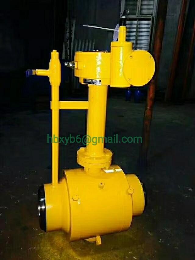 Welding cast steel ball valve gas_2