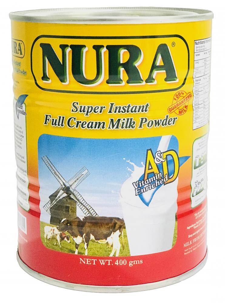 Nura Instant full Cream Milk Powder 400 gm_4