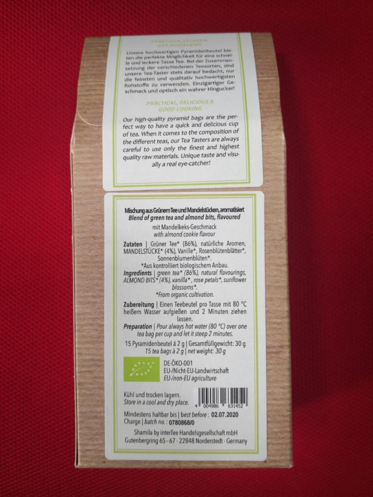 ALMOND COOKIE LOVE - Chaitwentea a Tealicious beverage_2