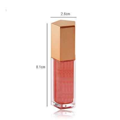 MS-LPG-5-1 wholesale unbranded makeup lip gloss tube long lasting liquid lipstick low MOQ private label creamy lip gloss_3