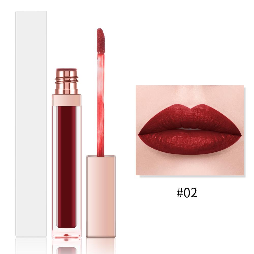 MS-LP-13 long -lasting, non-drying weightless formula lipstick matte lipstick long lasting matte waterproof lipstick private label_8