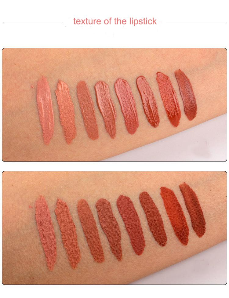 MS-LP-08 8 colors matte lip gloss_4