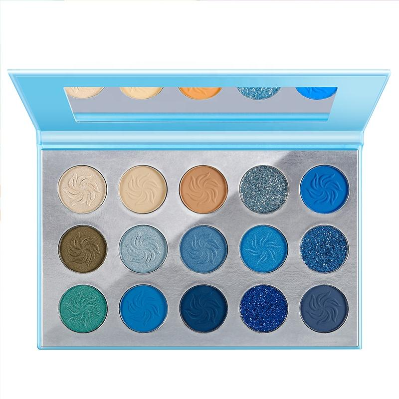 MS-EP-15 7 matte colors and 3 glitter colors eyeshadow palette_6