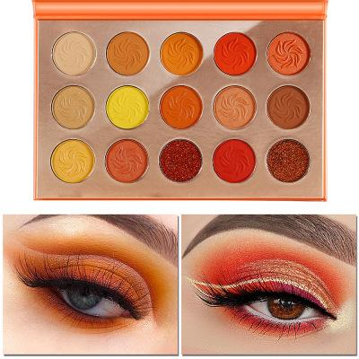 MS-EP-15 7 matte colors and 3 glitter colors eyeshadow palette_5