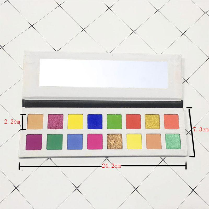 MS-EP-16 12 matte and 4 shimmer colors eyeshadow palette_12