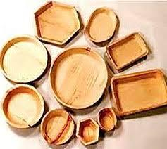 Biodegradable Areca leaf plates,bowls and cutlery_2
