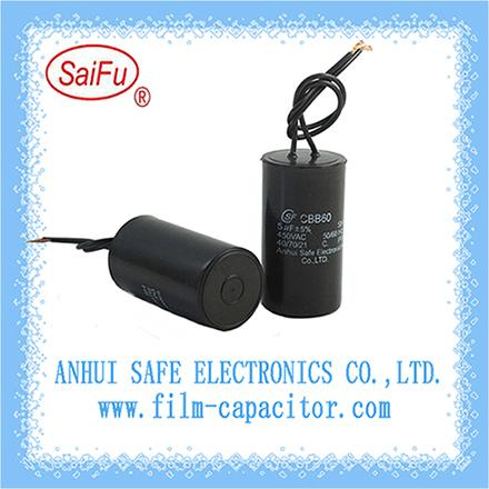 Sell CBB60 AC Motor Start and Run Capacitor_2