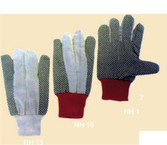 Polka dot Cotton Drill Gloves_2