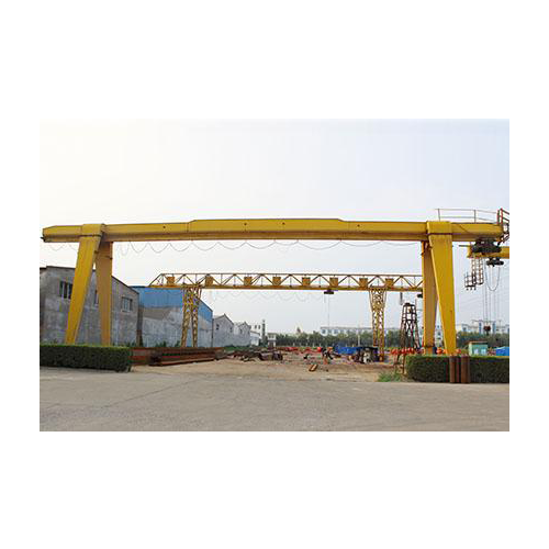 MH 3.2t~20t Box Structure Single Girder Electric Hoist Gantry Crane_2