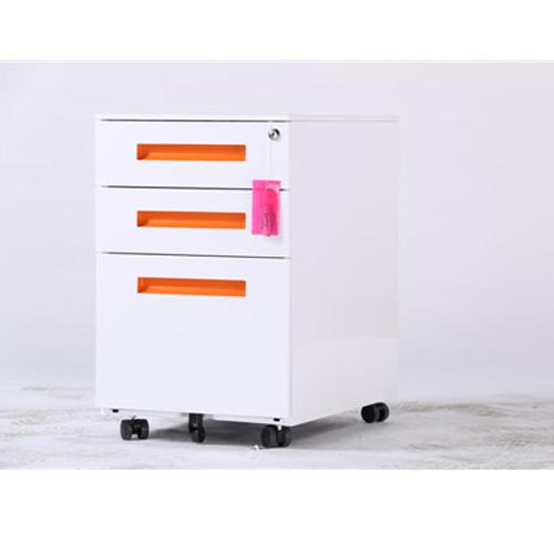 High Quality 3 Drawers Steel Movable Cabinet_2