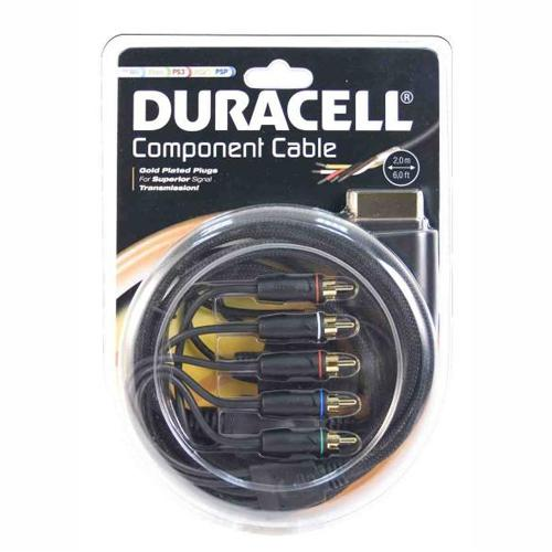 Duracell U002DU Component Cable for WII / XBOX / PS3 / PS2 / PSP_2