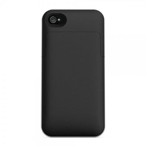 Mophie Juice Pack Recheargable External Battery Snap Case for iPhone 4_3