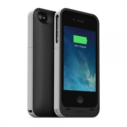 Mophie Juice Pack Recheargable External Battery Snap Case for iPhone 4_2