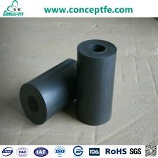 PTFE molded tubes with carbongraphite MoS2_2