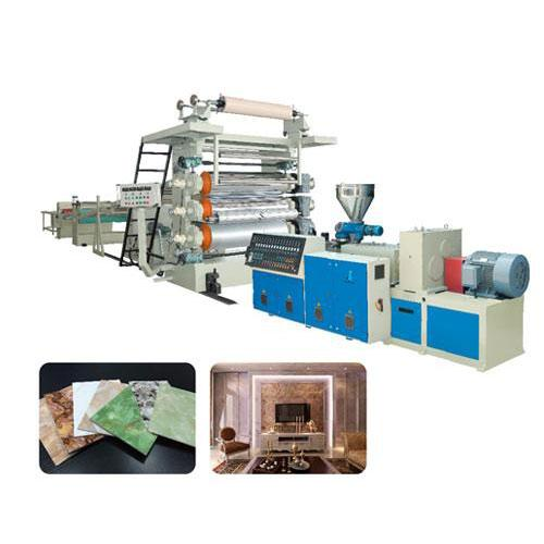 PVC marble sheet production line_2